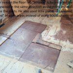 Omer 1 old sub-floor