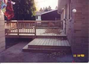 Patio door & deck (4)
